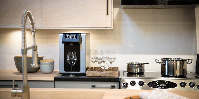 Cuisine machine H2O