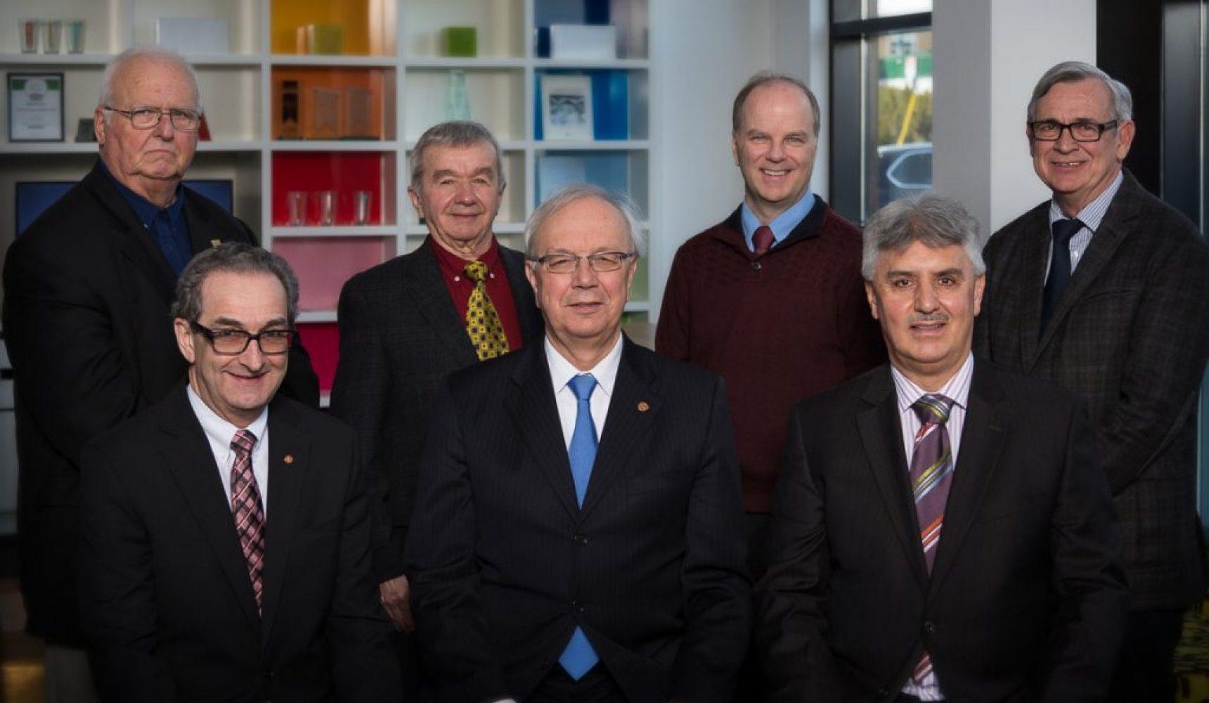 Portrait groupe affaire